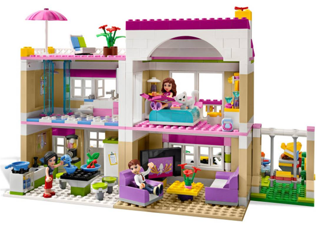 lego friends olivia 39 s house 3315 home. Black Bedroom Furniture Sets. Home Design Ideas